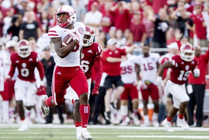 Nebraska WR Morgan Jr. arrested on pot charge