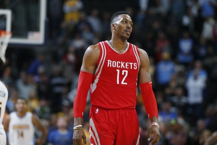 Dwight Howard Block Rockets