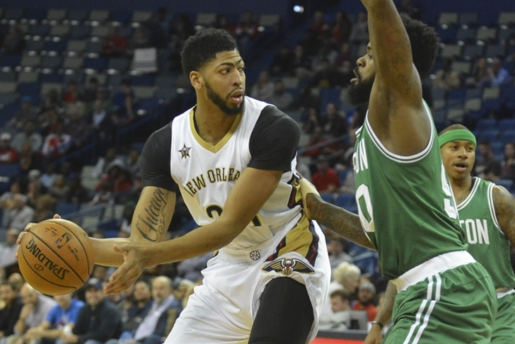 Anthony Davis to Celtics not true