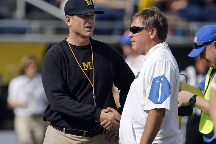 Jim McElwain: Gators going to 'beat the heck out of Michigan'