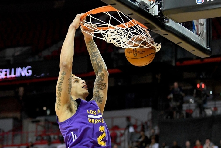 Los Angeles Lakers sign summer league standout Zach Auguste