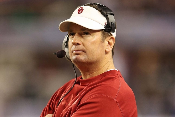 Bob Stoops is retiring as Oklahoma's football coach