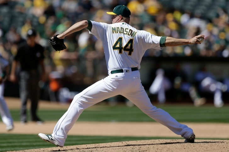 Nationals Trade for Oakland's Sean Doolittle and Ryan Madson