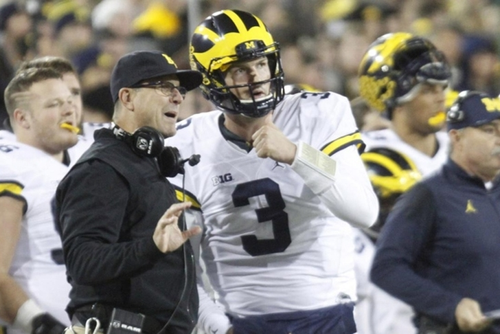 No. 4 Michigan may need to reach for goals with new QB