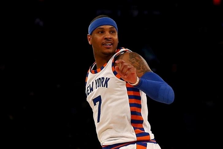 New York Knicks: Carmelo Anthony Denies Blocking Trade To Boston Celtics