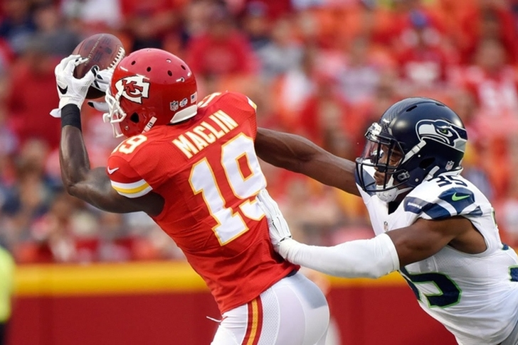 Chiefs release WR Maclin in midst of voluntary workouts
