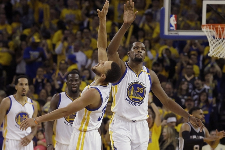 Warriors surge past Spurs in Game 2