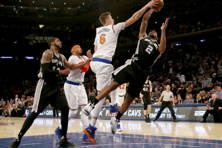Phil Jackson confirms he's 'listening' to Kristaps Porzingis trade proposals