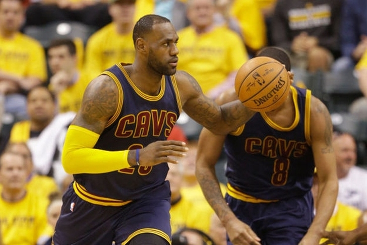 Cavaliers lead Pacers 88-77 at end of third