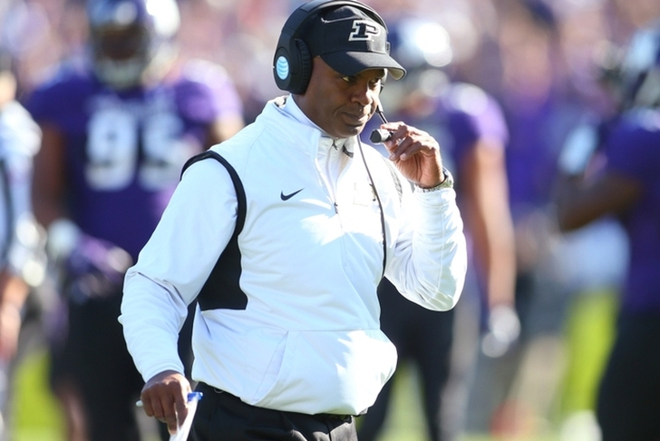 Purdue fires coach Hazell after 3-plus seasons and 9 wins
