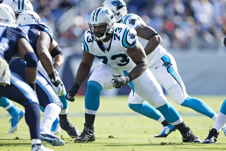 Panthers OT Michael Oher cited for misdemeanor assault