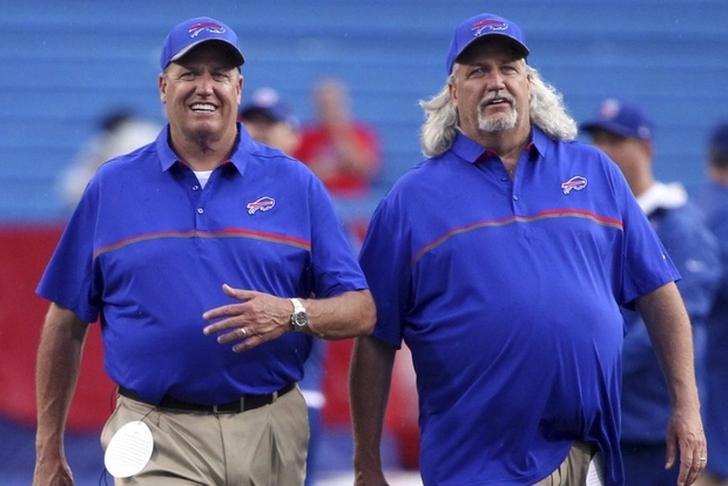 Rex and Rob Ryan involved in a brief Nashville scuffle
