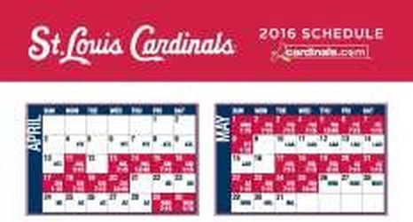 Cardinals Announce 2016 Regular Season Schedule