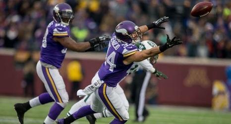 Wholesale NFL Jerseys - Vikings: Andrew Sendejo to start at safety over Robert Blanton