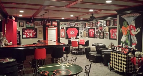 Photos Georgia Fan Has One Of The Most Amazing Man Caves