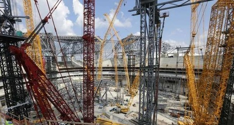 What we learned about new falcons stadium including psl for Mercedes benz stadium psl