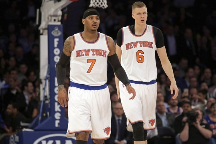Kristaps Porzingis defies Knicks' wishes with decision to play for Latvia