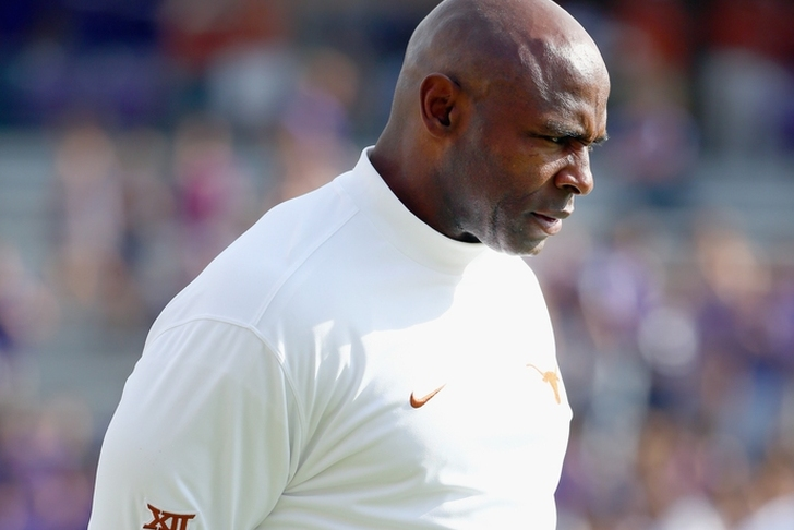 Texas 'very close' to firing Charlie Strong after season