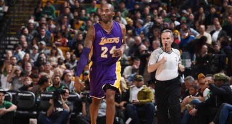 Kobe Salutes Special Place Bids Boston Adieu
