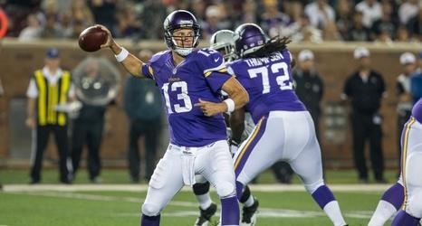 Wholesale NFL Nike Jerseys - Sam Bradford or Shaun Hill: Who will start for Vikings vs Titans?