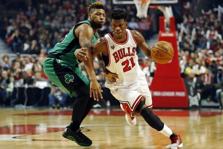 Bulls' Jimmy Butler confident he'll stay in Chicago