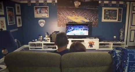 Military Family Surprises Dad With A UK Man Cave