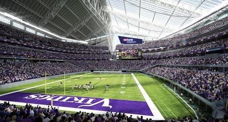 Vikings To Build Nordic Ship On Plaza Outside New Stadium