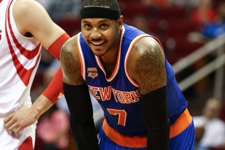 Knicks, Rockets would need third team for Carmelo Anthony trade