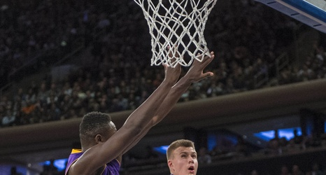 Knicks' Porzingis earns praise from Magic and Kobe ...