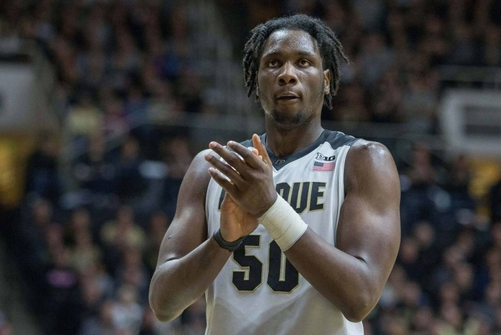 Purdue center Swanigan to keep name in draft