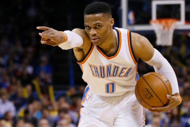Westbrook's triple-double leads Thunder past Rockets 115-113