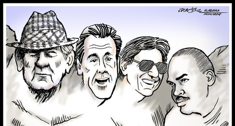 Who did AL.com readers pick for Mount Rushmore of Alabama football?