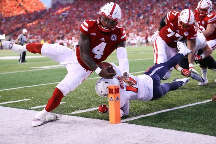 Nebraska honors Sam Foltz with a Delay of Game