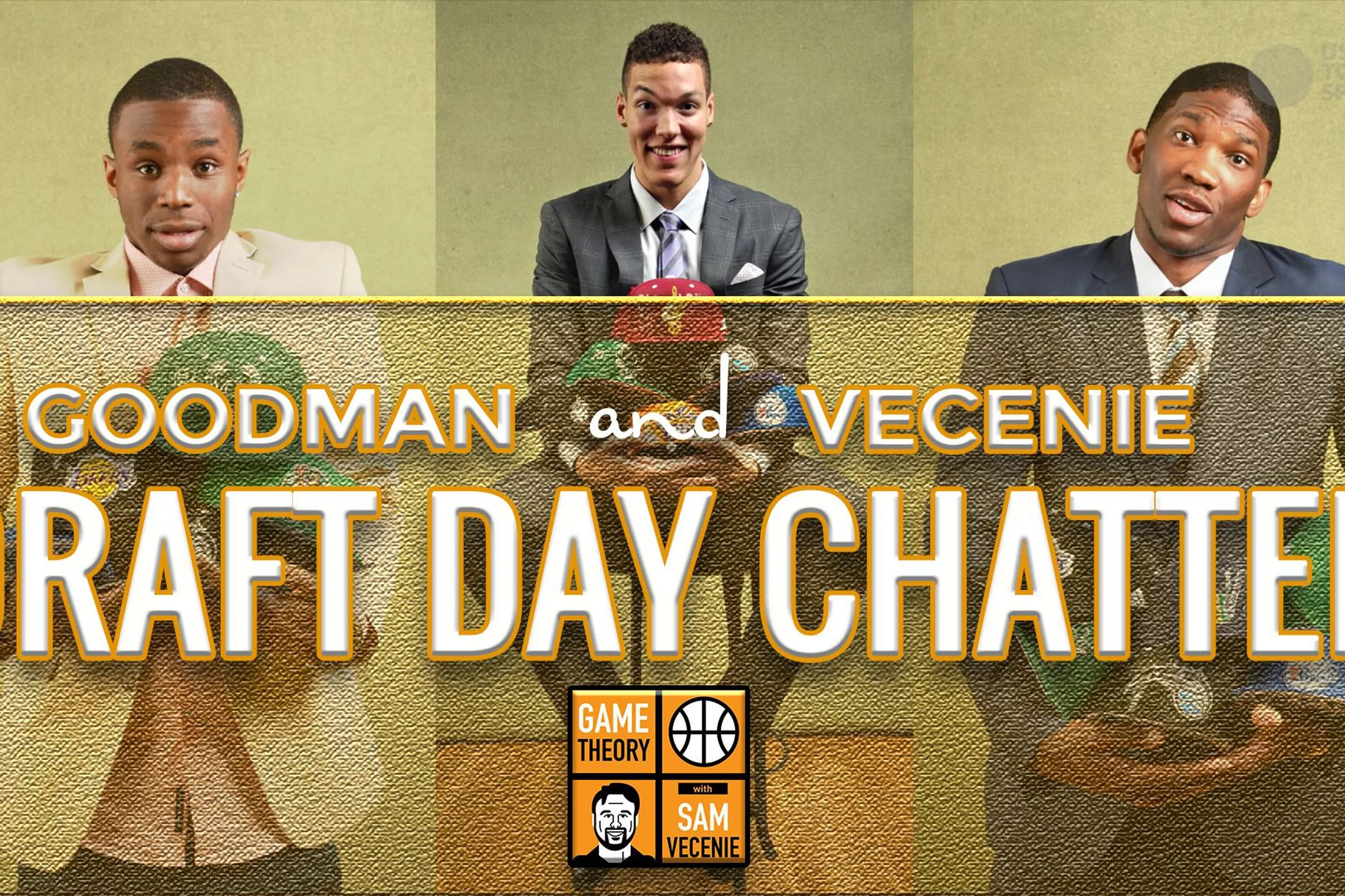 nba draft day chatter with goodman and vecenie podcast