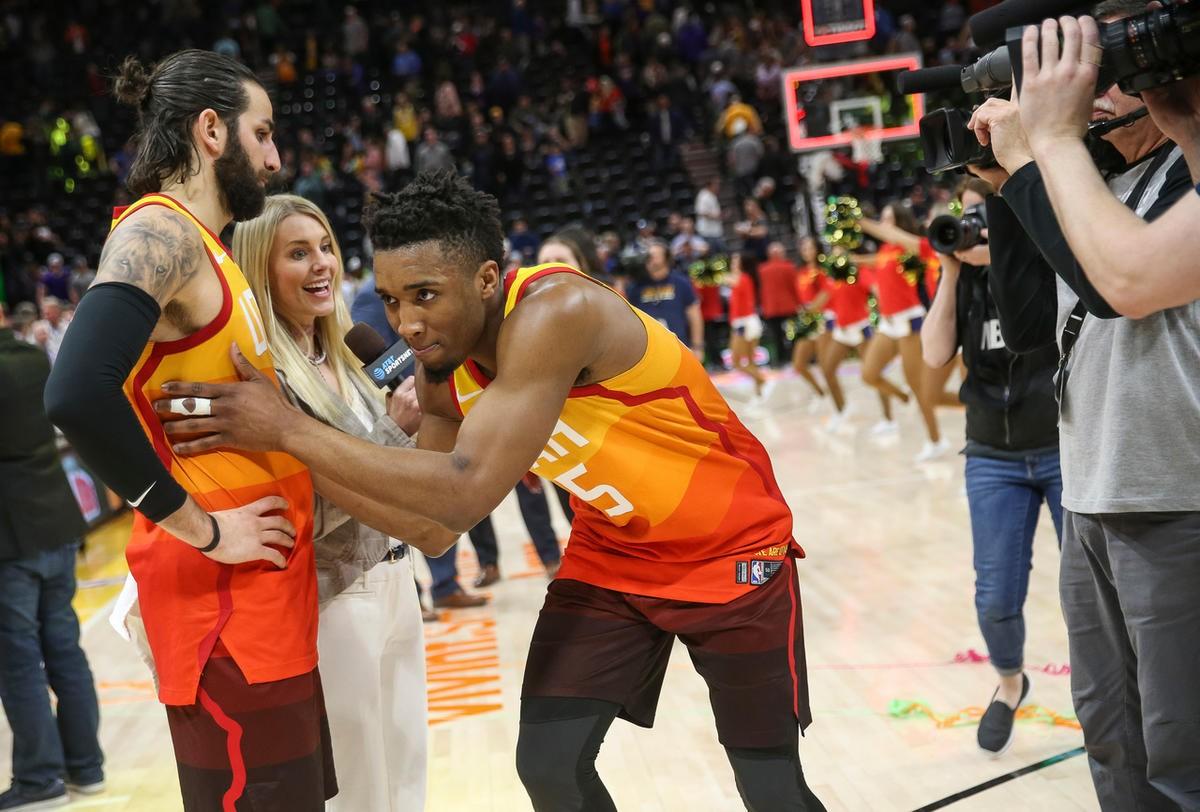 online store 8ac0b de7d4 Utah Jazz notes: City Edition jerseys to return for 2018 NBA ...