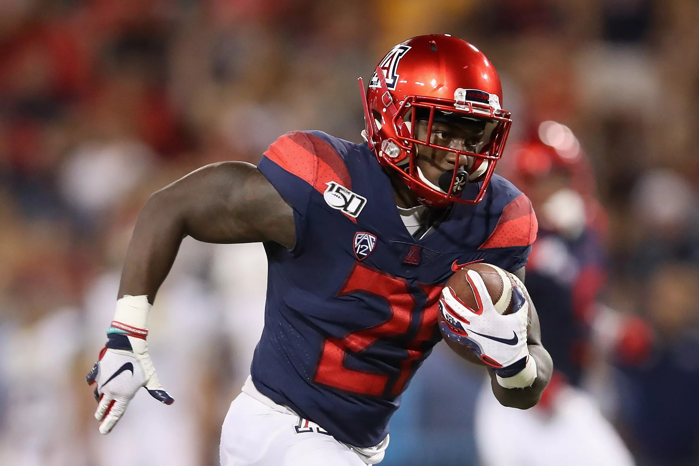 Patriots Promote Undrafted Running Back J J Taylor As Damien Harris Heads To Ir