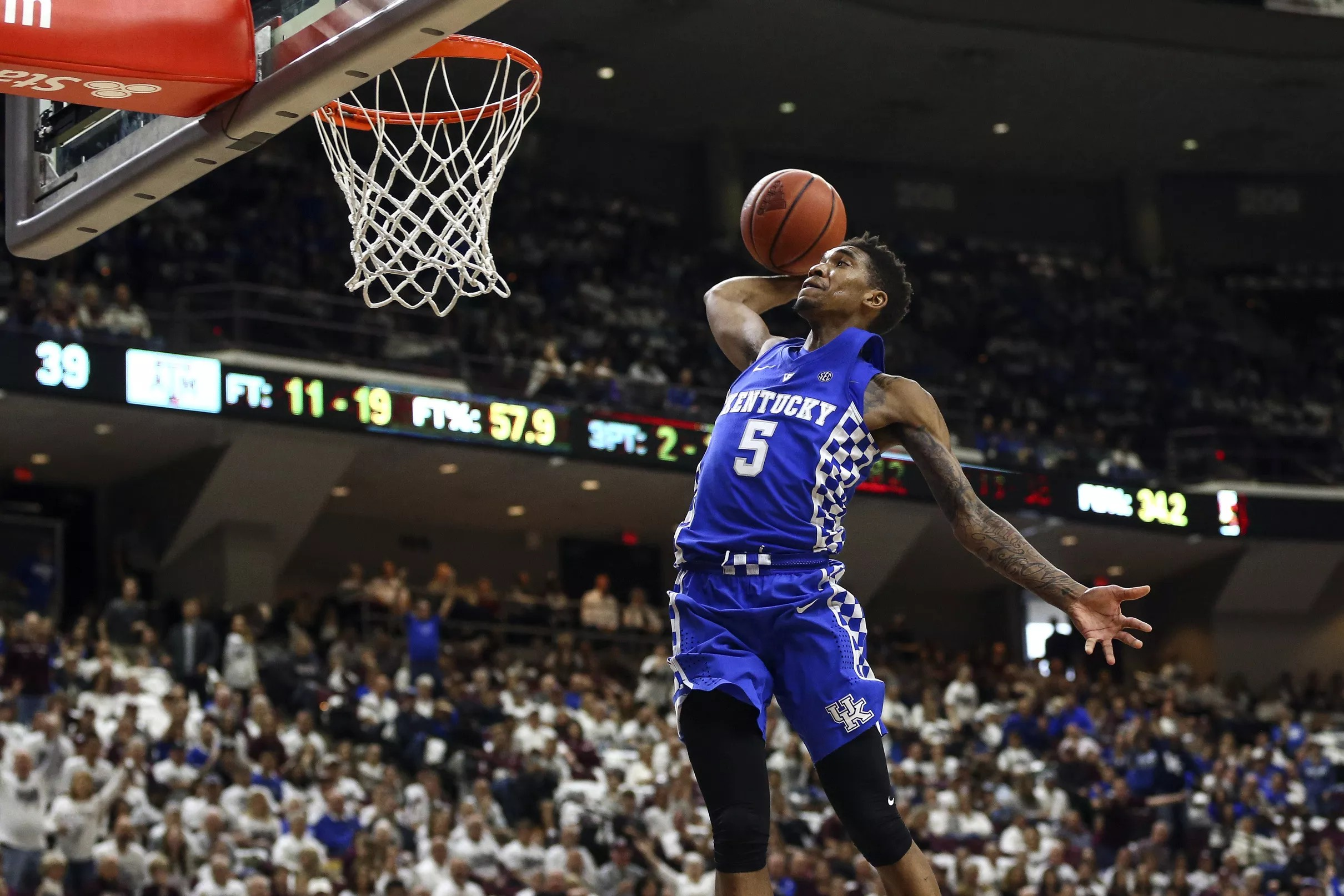 Kentucky S Malik Monk Named Ap Sec Player Of The Year: NBA Draft 2017 Scouting Profile: Malik Monk