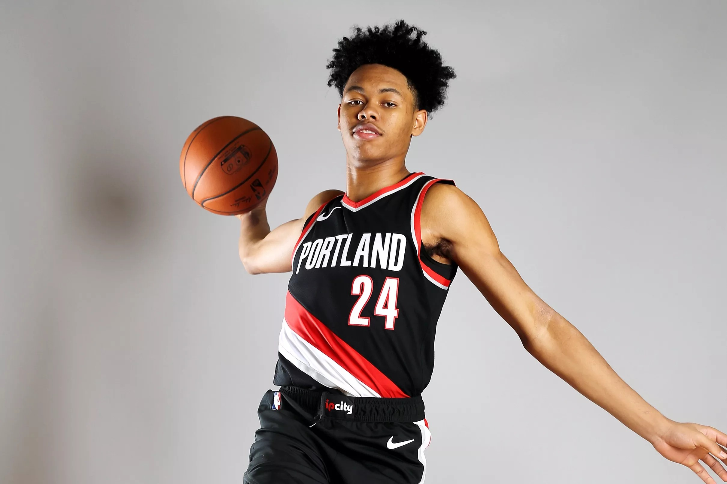 finest selection fa306 bf31a Trail Blazers Rookie Anfernee Simons Discusses Summer ...