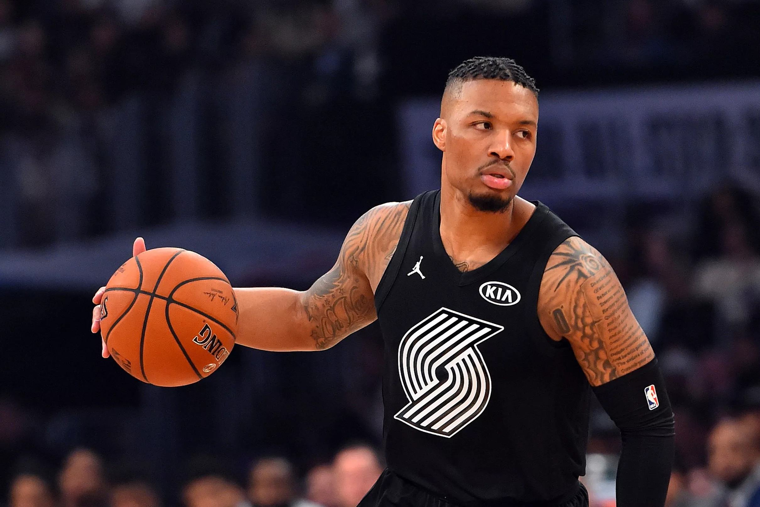 Video Damian Lillard Notches 21 In Dazzling 2018 All Star Performance