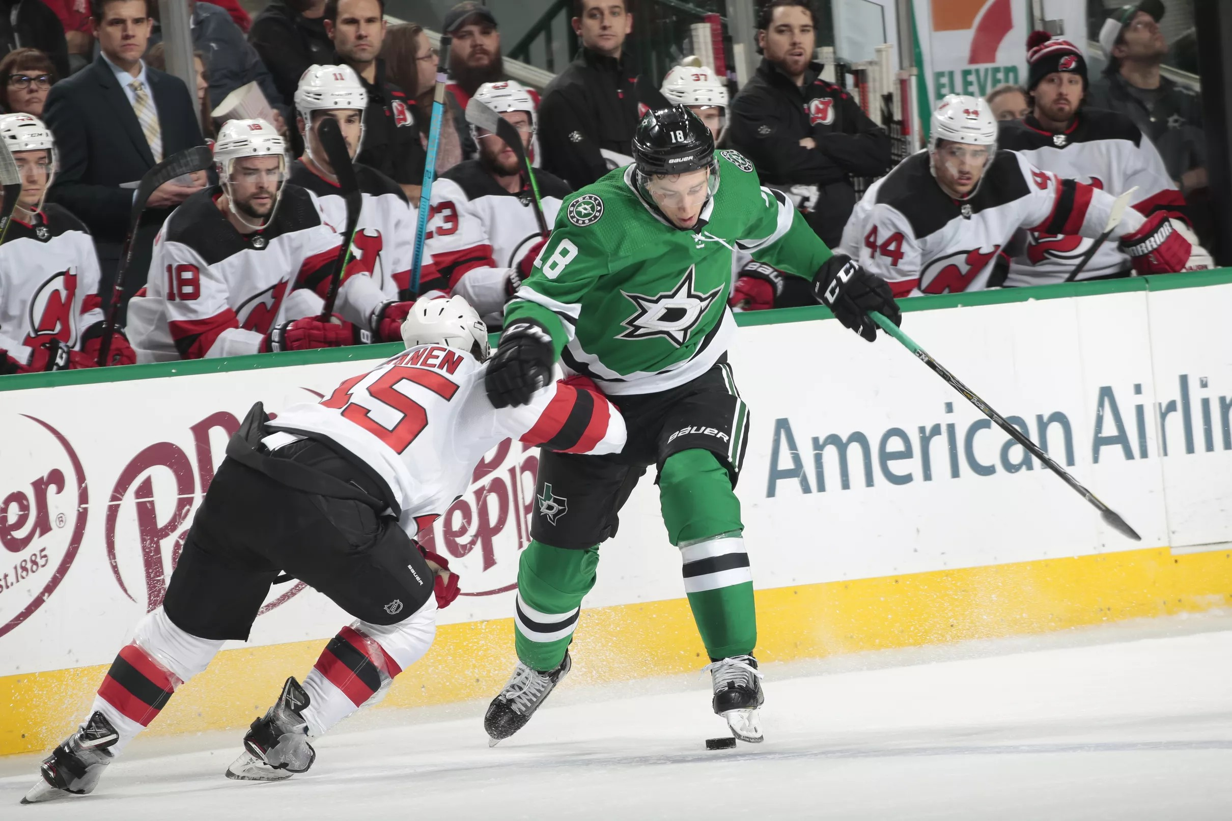 info for 5ee67 56f43 New Jersey Devils Broken Down by Dallas Stars in 4-5 Defeat