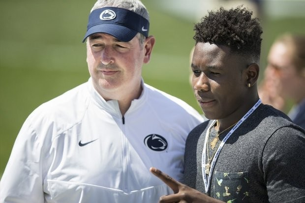 Ohio State targets new Penn State commit Jesse Luketa