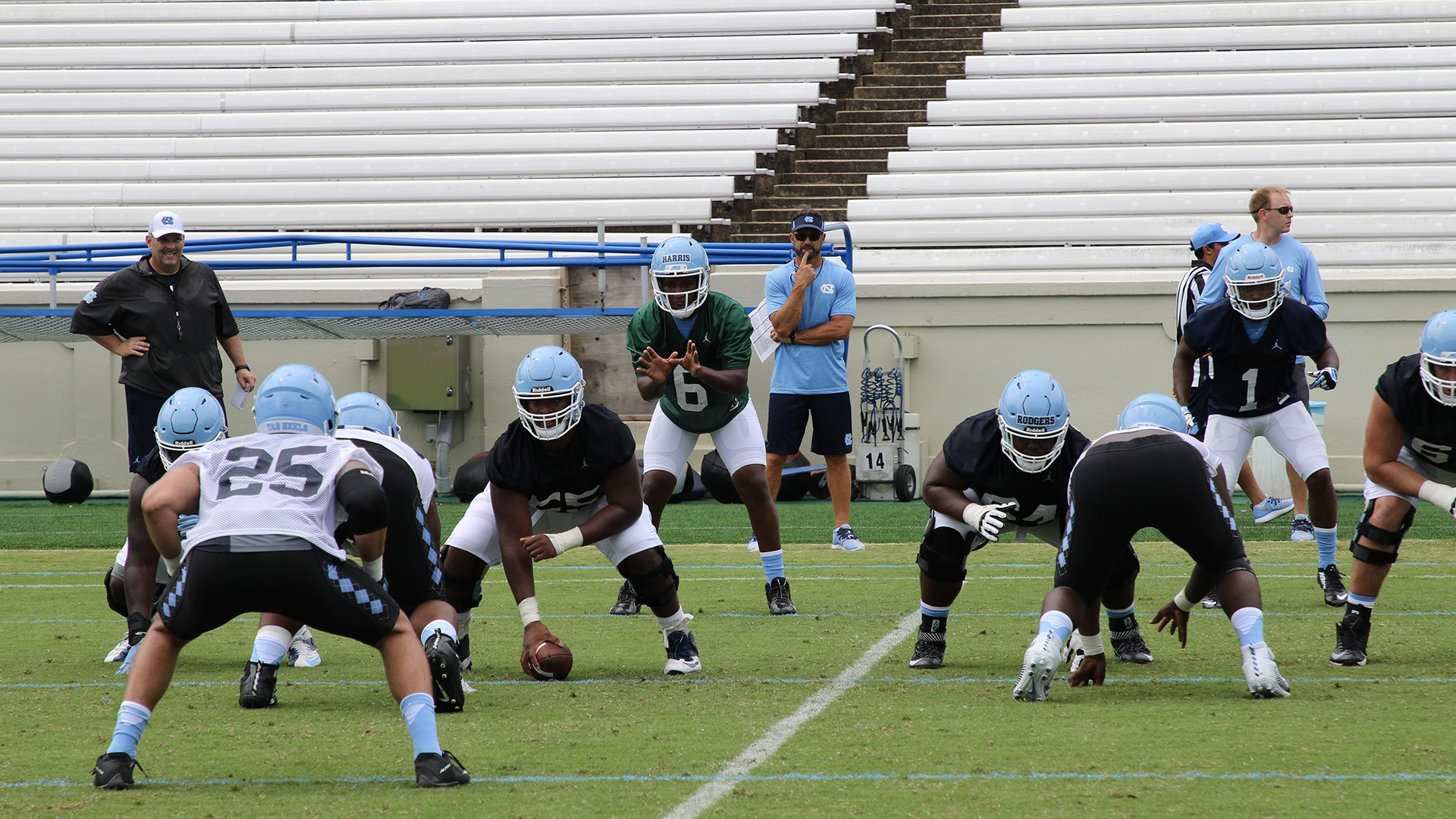 Goheels Exclusive Big Plays Define Second Scrimmage