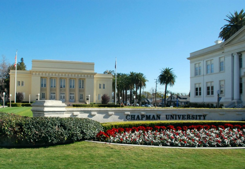 why chapman university essay I believe the best thing about chapman university is its small community chapman university has a very nice film school, which is the reason why i attend chapman.