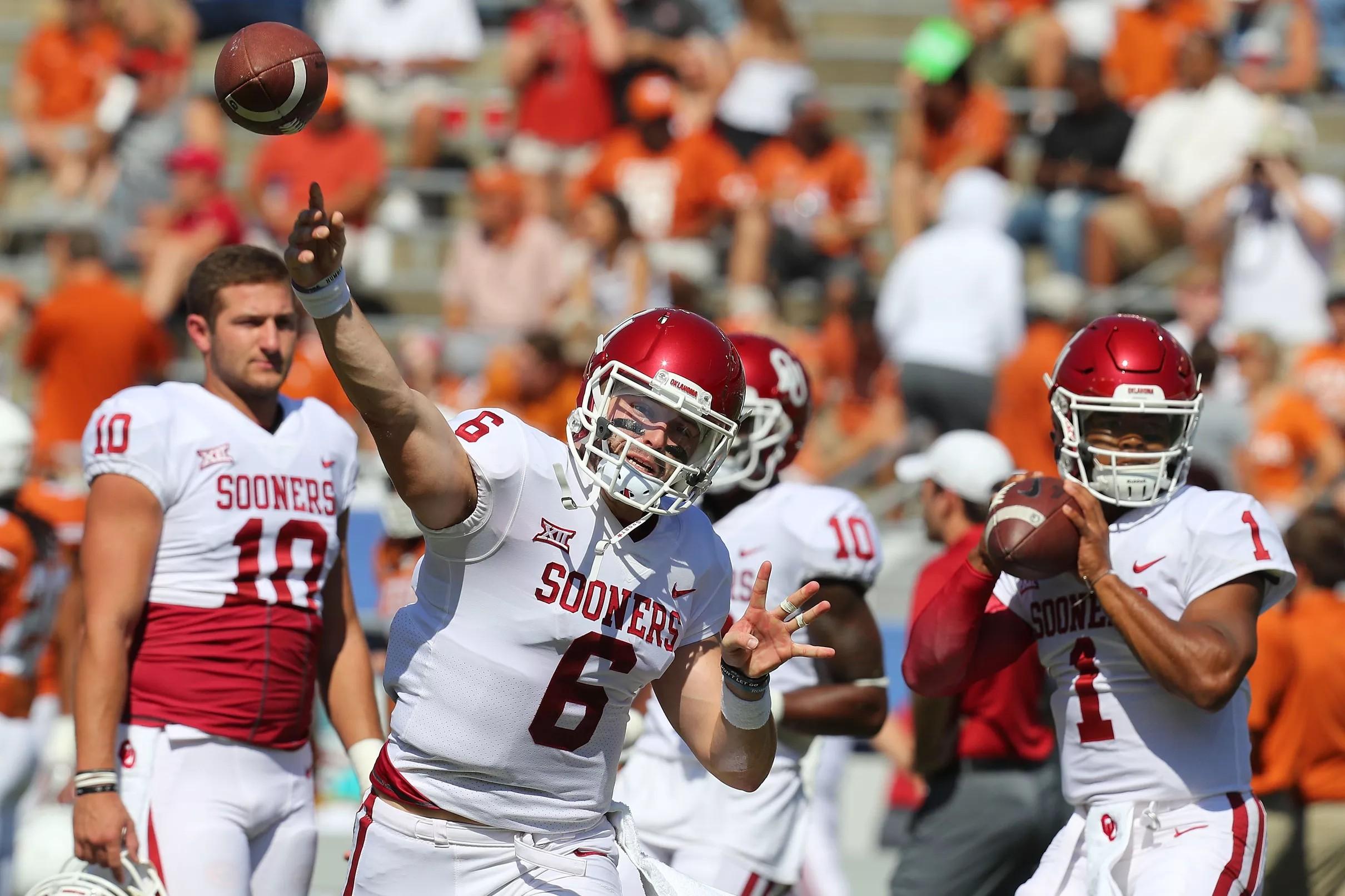 d5f24eabf66 Oklahoma Sooners Football Hot Links: Transfers, NCAA Super Regionals and Baker  Mayfield