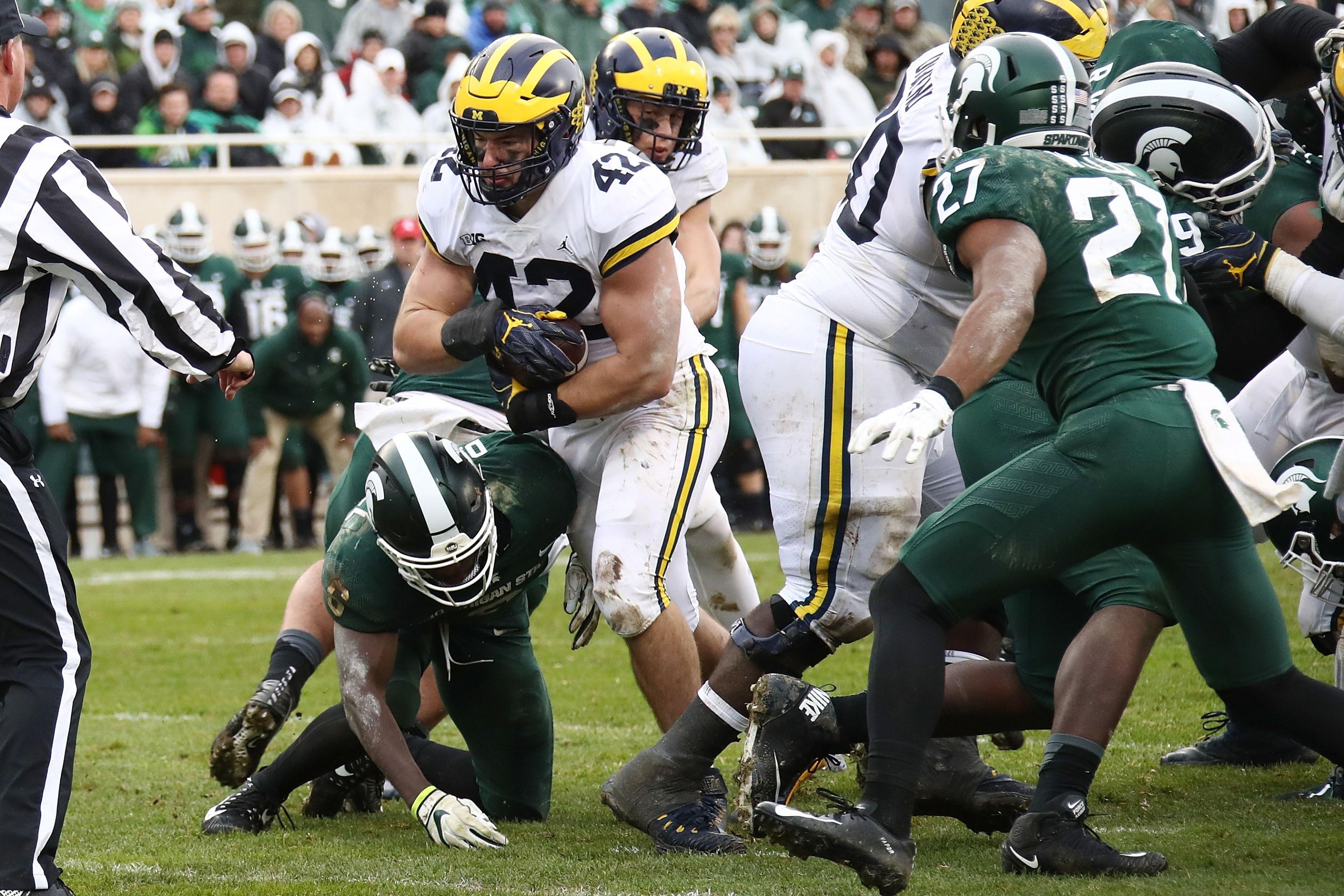Michigan Football: Ben Mason at fullback makes sense all ...