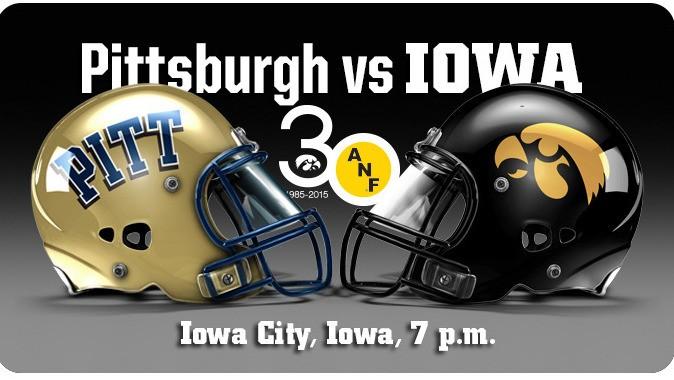 Football Game Notes Iowa Vs Pitt