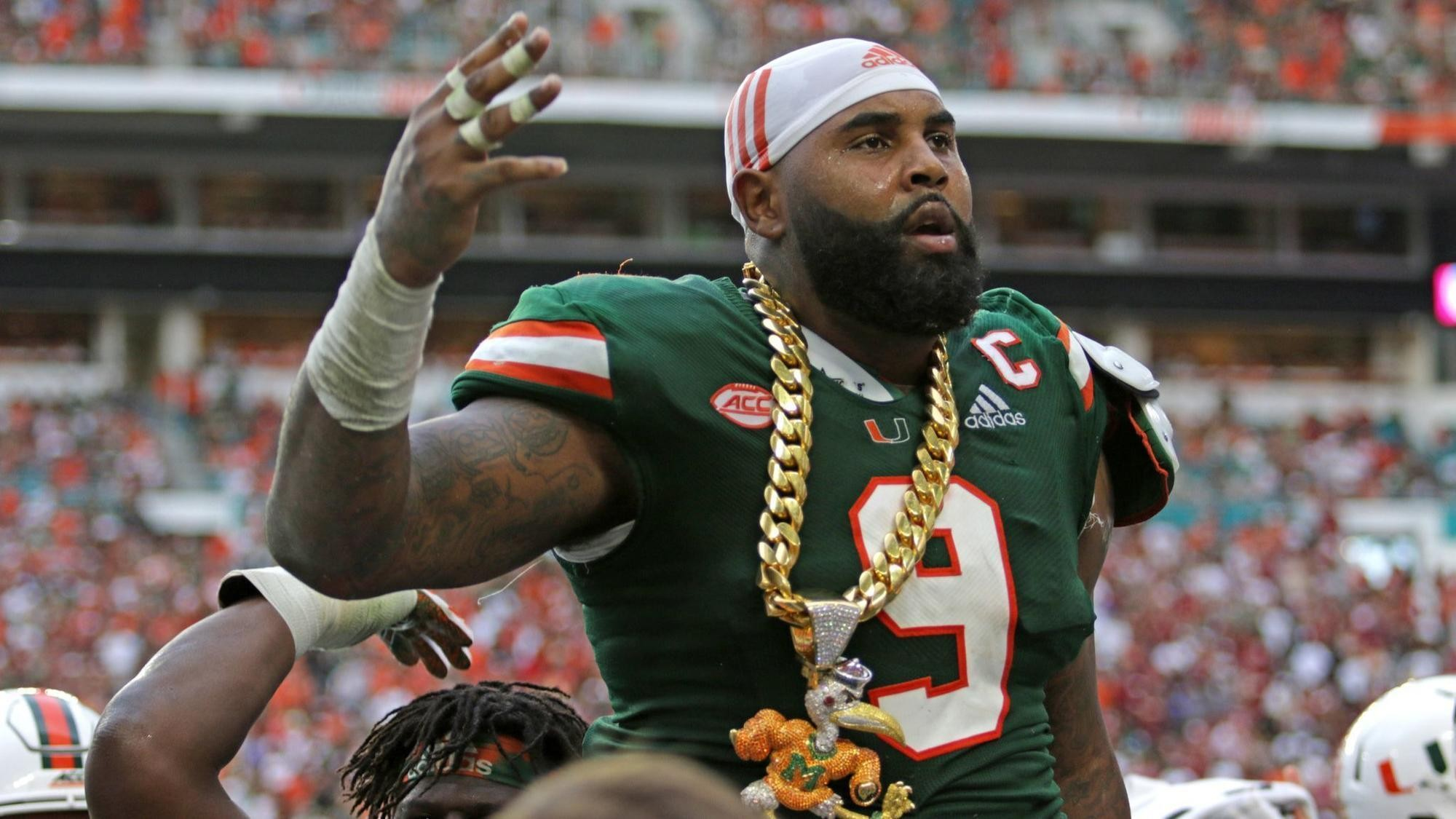 timeless design 3a1cd 00ad8 Dream' season continues for UM's Gerald Willis III — minus a ...