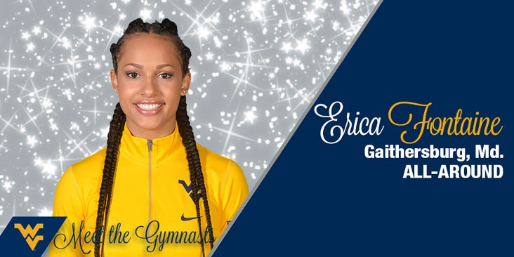 Meet The Gymnasts Erica Fontaine