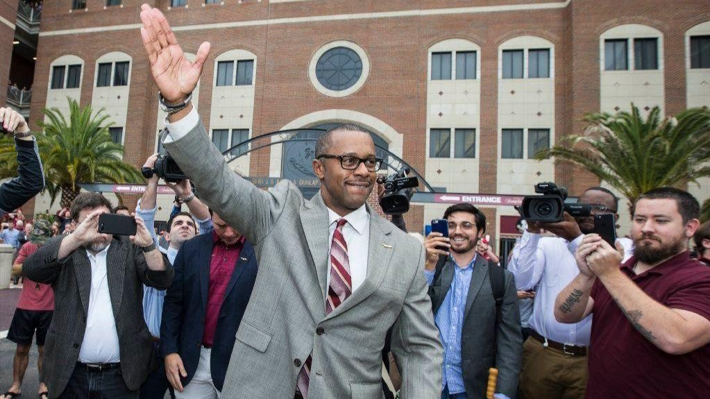 new fsu coach willie taggart  ucf  usf will never play for