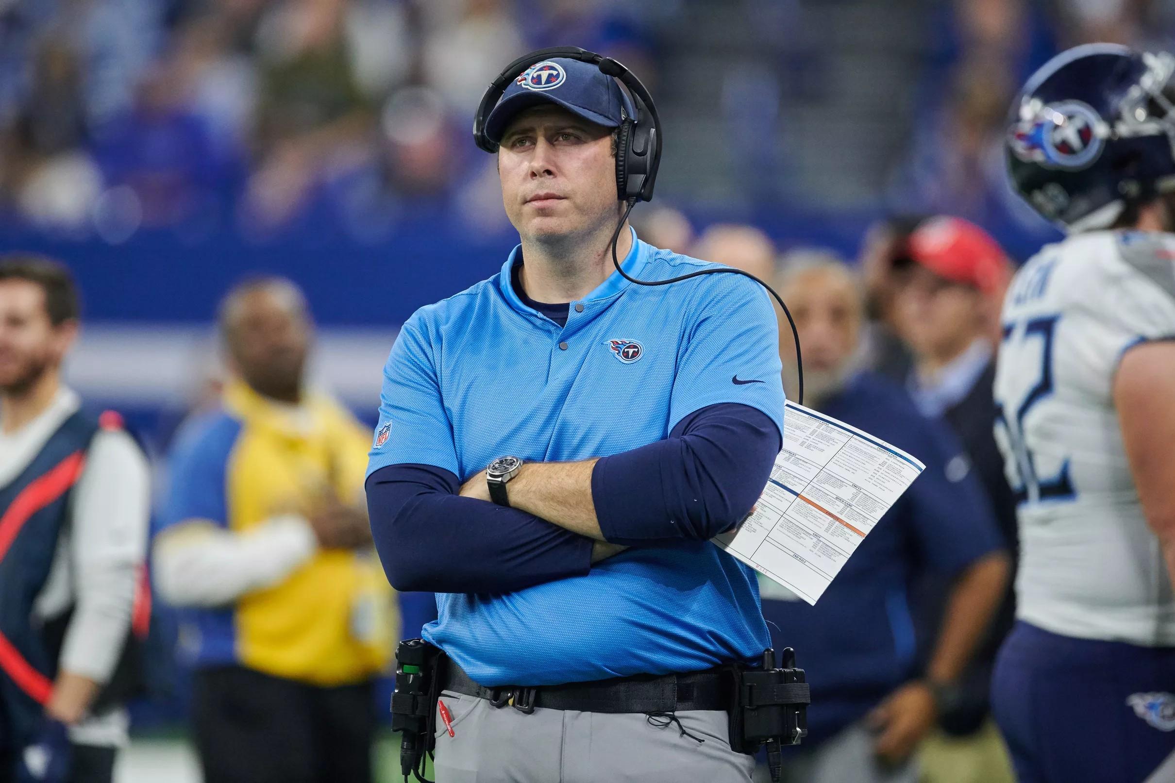 Atlanta Falcons head coaching search: Titans OC Arthur Smith